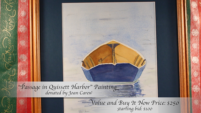 """""""Passage in Quissett Harbor"""" Painting by Joan Carew"""
