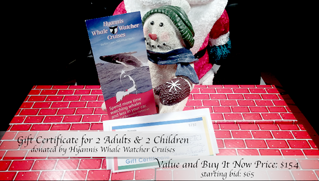 Hyannis Whale Watching Cruises Gift Certificate