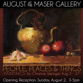 August 2015 at Maser Gallery