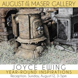 August 2018 at Maser Gallery