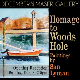 December 2015 at the Maser Gallery