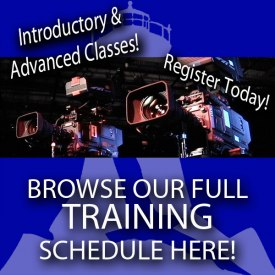 FCTV's Training Schedule