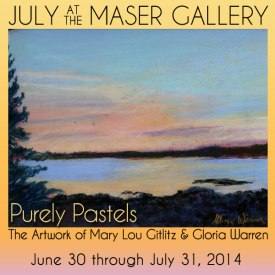 July 2014 at the Maser Gallery
