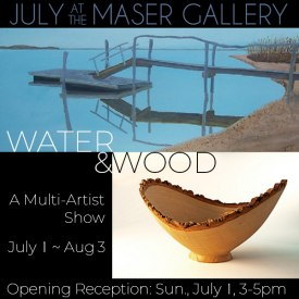 July 2018 at the Maser Gallery