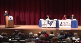 Candidates Forum at Falmouth High School