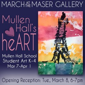 March 2016 at the Maser Gallery