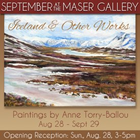 September 2016 at Maser Gallery