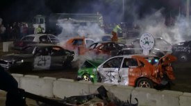 World's Largest Demolition Derby