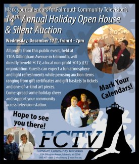 FCTV Holiday Open House & Silent Auction