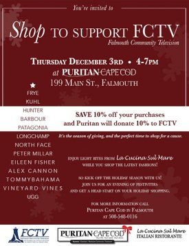 Shop for a Cause at Puritan Cape Cod!