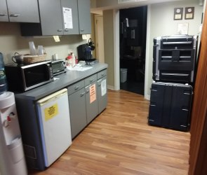 Unit B Kitchenette Area
