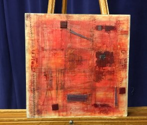 Encaustic and Oil Stick