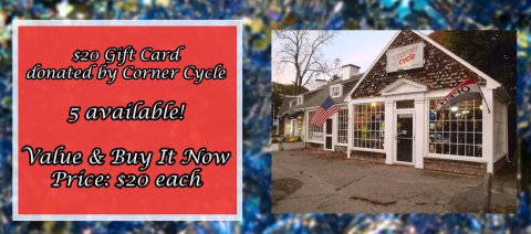 $20 Gift Card to Corner Cycle