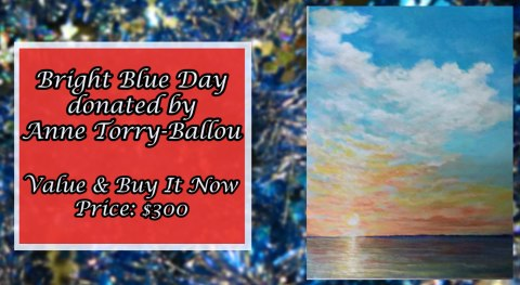 Bright Blue Day Painting