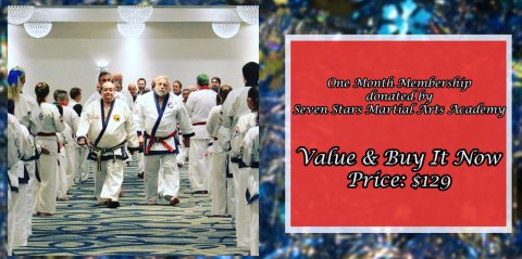 One Month Membership to Seven Stars Martial Arts Academy