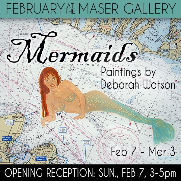 February at the Maser Gallery