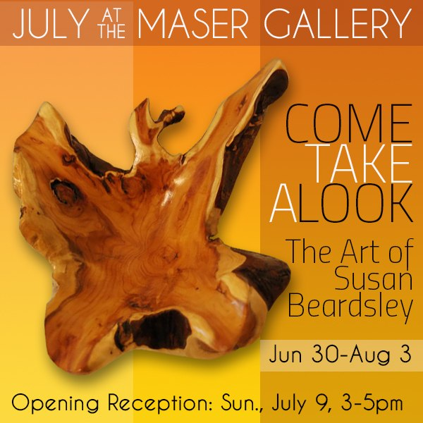 July 2017 at the Maser Gallery