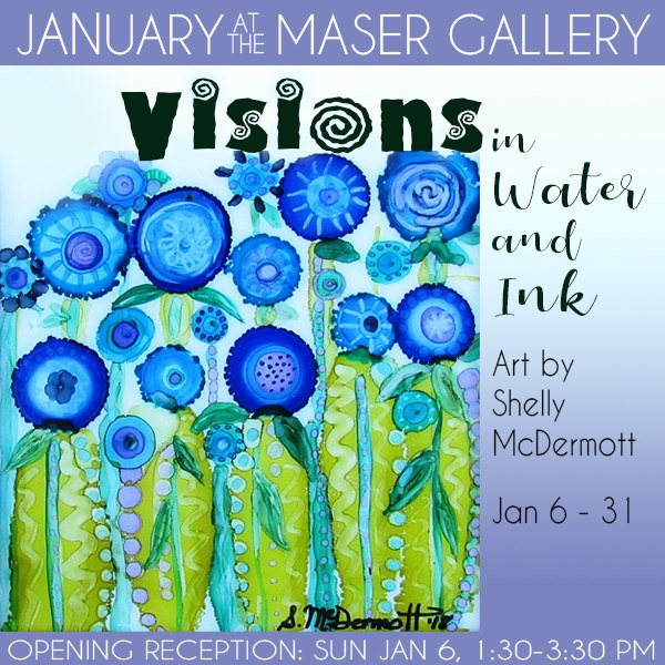 January 2019 at the Maser Gallery