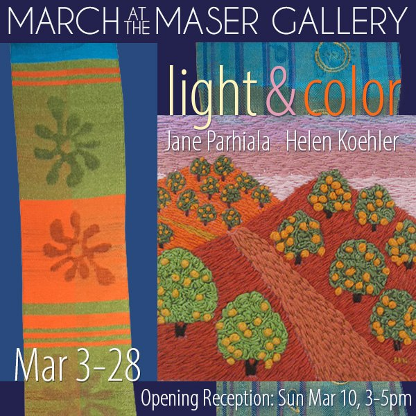 March 2019 at the Maser Gallery