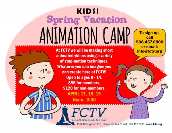 Spring Animation Camp 2018