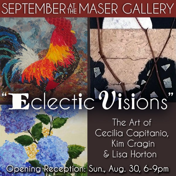 September 2015 at the Maser Gallery