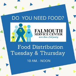 Need Food? Falmouth Service Center