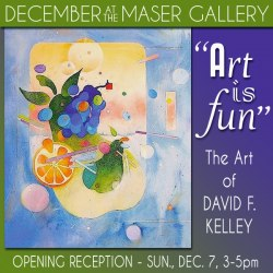 December 2014 at the Maser Gallery