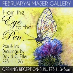 February 2015 at the Maser Gallery