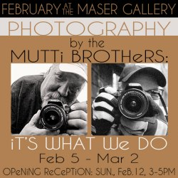 February 2017 at the Maser Gallery