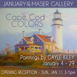 January at Maser Gallery