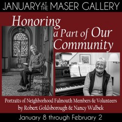 January 2017 at the Maser Gallery