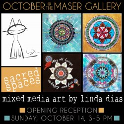 October 2018 at the Maser Gallery