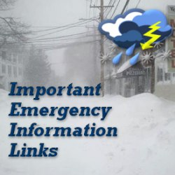 Click here for important emergency information links!